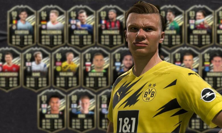 FIFA 21: date prisa, solo hay un jugador de TOTW gratis hoy