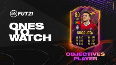 FIFA 21: Logros de Diogo Jota OTW - Nueva tarjeta especial disponible