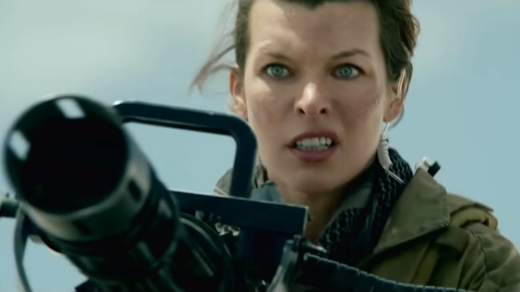 Teaser de la película Monster Hunter de Milla Jovovich