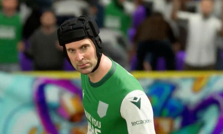 Jugador humilla a sus oponentes con leyenda de porteros en FIFA 21 - Se celebra