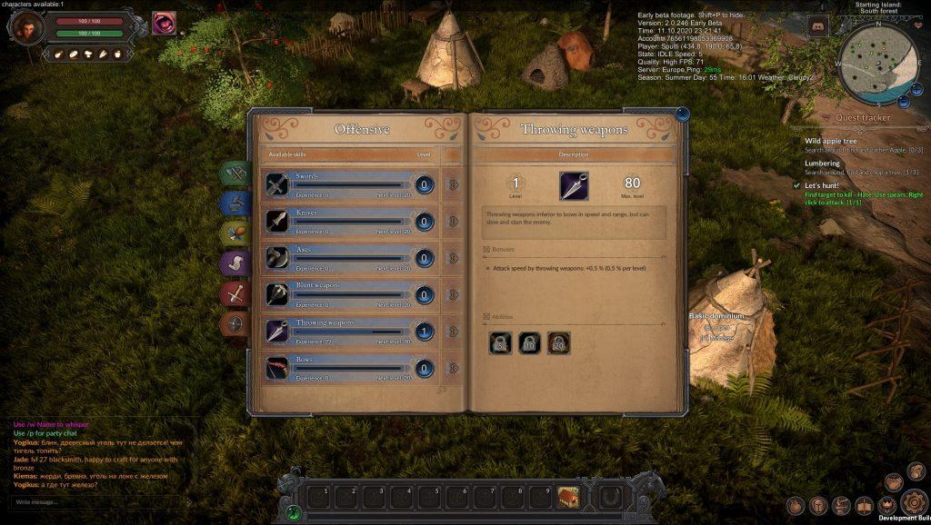Habilidades Wild Terra 2