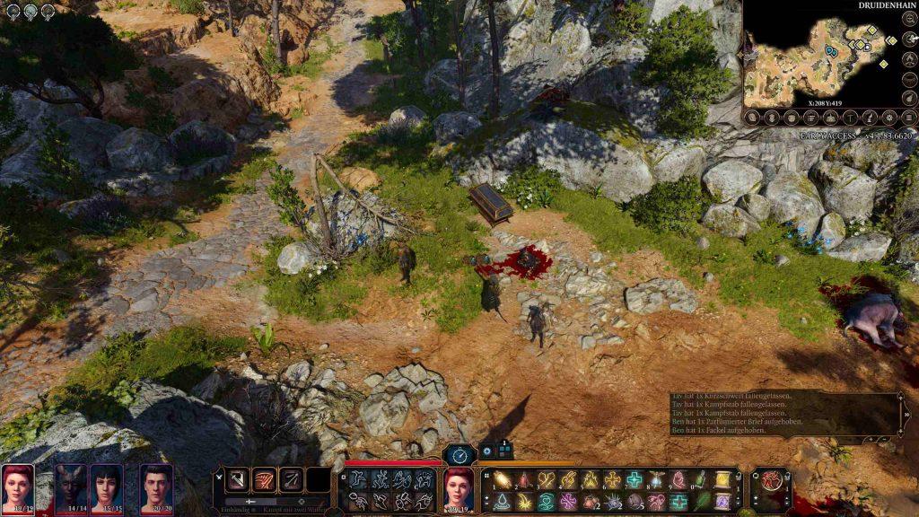 Caja multijugador de Baldur's Gate 3