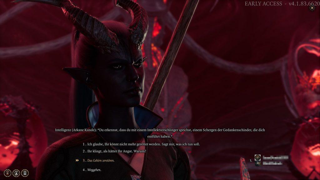 Conversación multijugador de Baldur's Gate 3