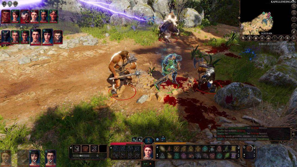 Cierre de batalla multijugador de Baldur's Gate 3