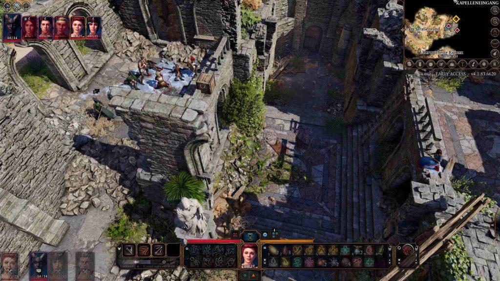 Ray of Frost multijugador de Baldur's Gate 3
