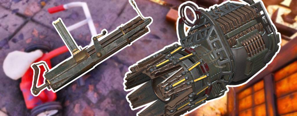 Fallout 76 Gatling Plasma y Gatling Heavy Guns obtienen un título de Mejora
