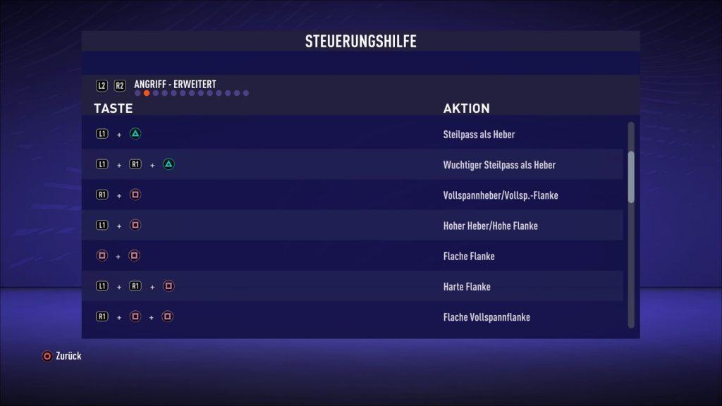 Flanco medio alto FIFA 21