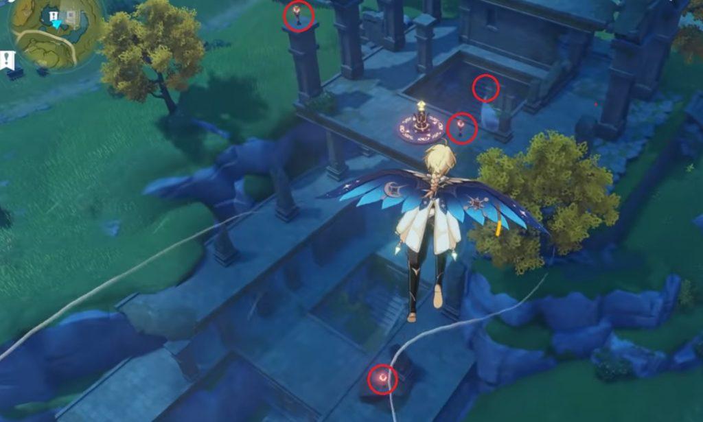 Antorchas Genshin Impact Treasure 5