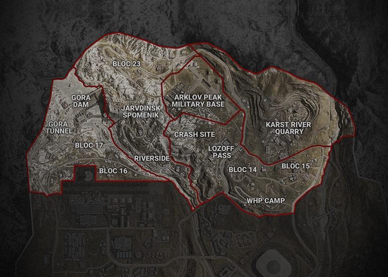 CoD Warzone Sector 1 Norte