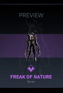 CoD Warzone Truco o trato Freak of Nature Spray