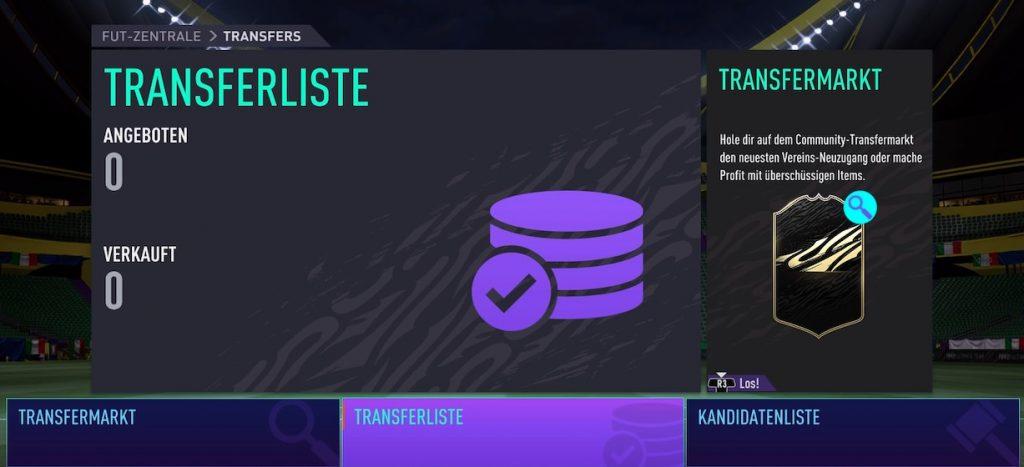 Lista de fichajes FIFA 21