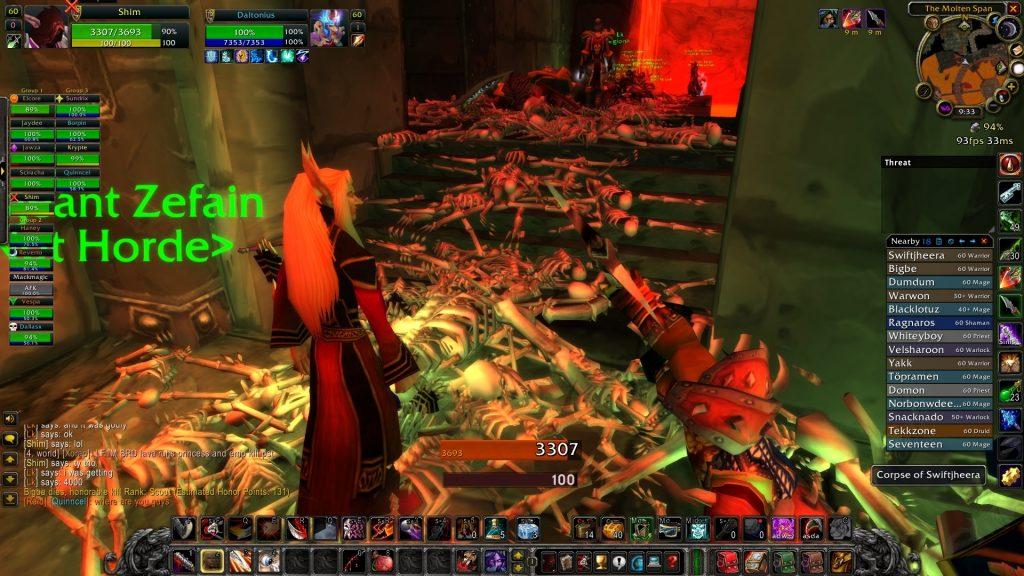 Masacre de WoW Classic Sundrix