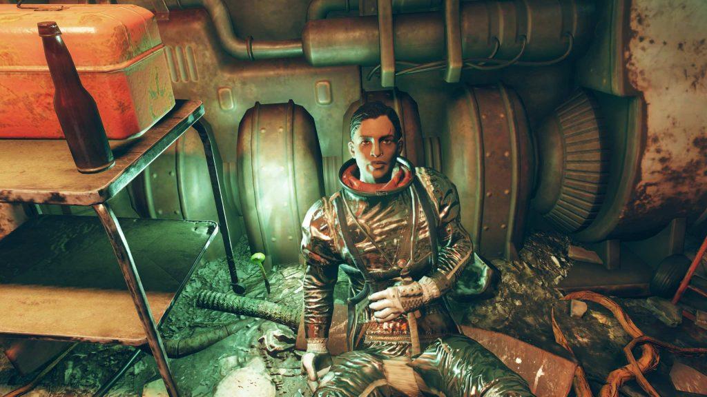 Fallout 76 Sofia Daguerre en el búnker