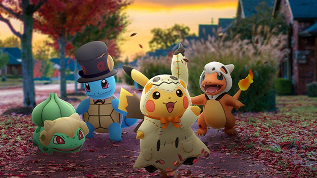 Pokémon GO Halloween título Pikachu Starter Gen 1