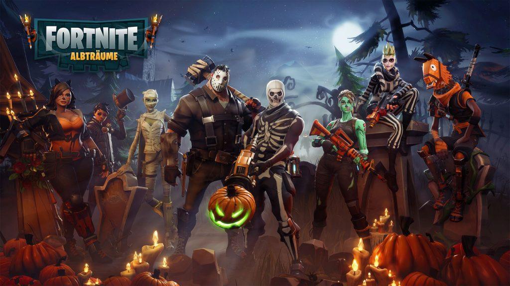 Halloween de Fortnite