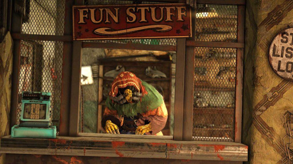Fallout 76 distribuidor legendario