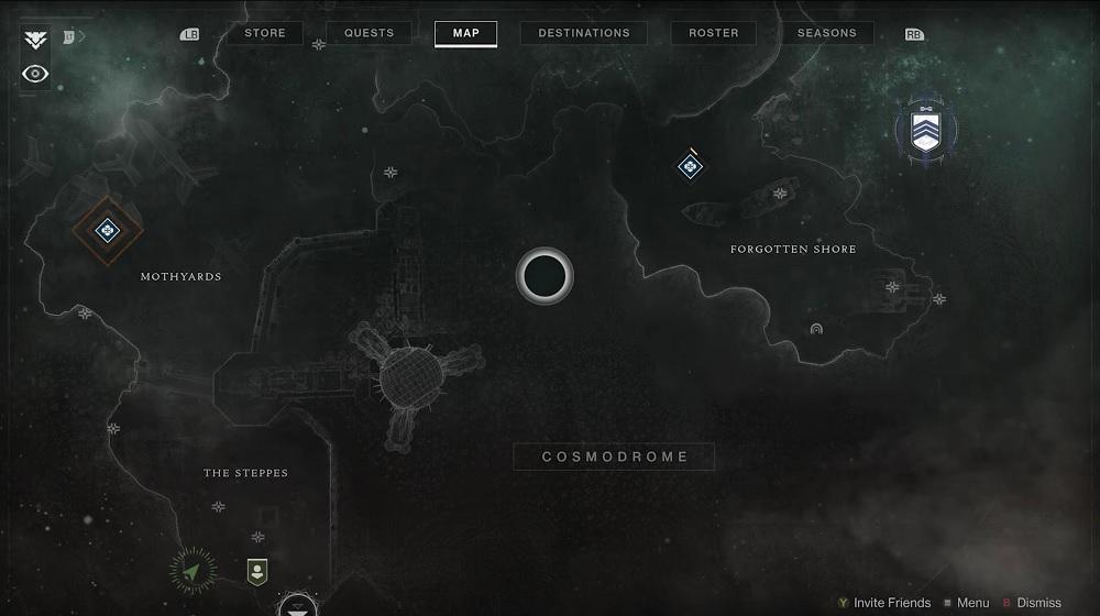 Cosmódromo Beyond Light Inicio Ubicación Destiny 2