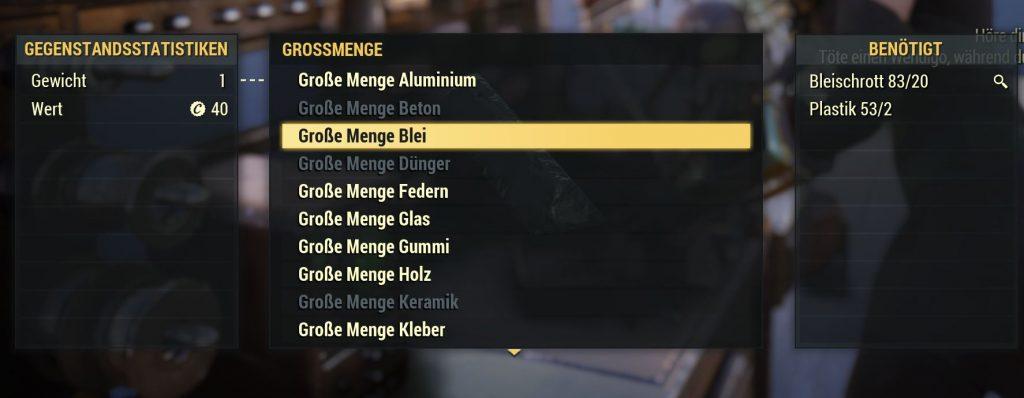Fallout 76 a granel