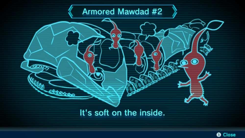 Cómo vencer al jefe blindado Mawdad en Pikmin 3 Deluxe
