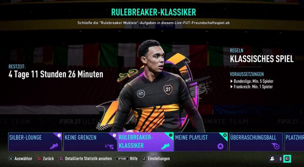 FIFA 21 Rulebreakers Classic