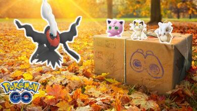 3 nuevos eventos que harán que noviembre sea realmente bueno en Pokémon GO