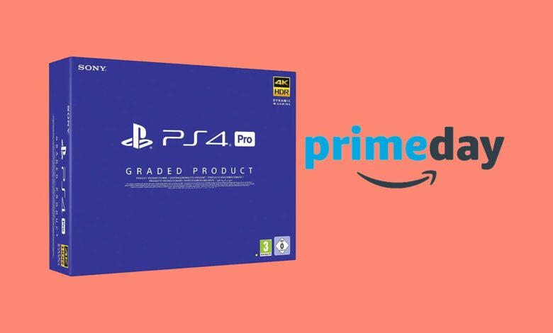 Amazon Prime Day: PS4 Pro a la venta por solo 239 euros