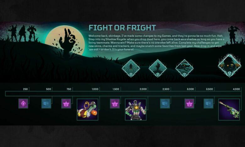 Apex Legends | Notas del parche de actualización Fight or Fright - 22 de octubre de 2020