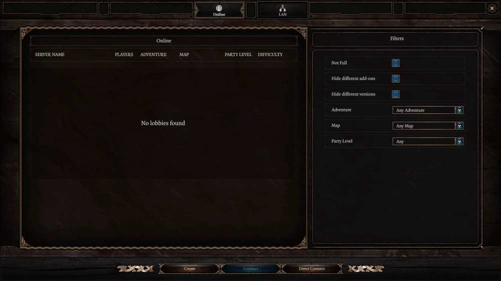 baldur & # 39; s gate 3, multijugador en línea