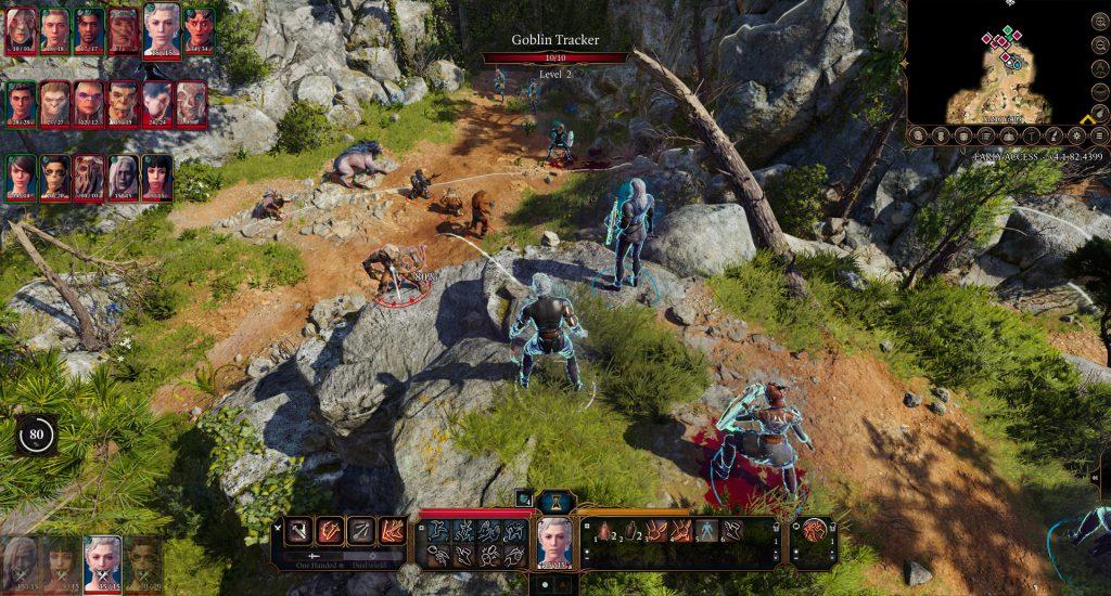 Lucha de Baldur's Gate 3