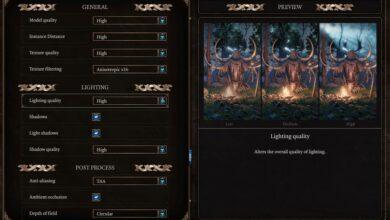 Photo of Baldur's Gate 3: la mejor configuración de gráficos para corregir las caídas de FPS
