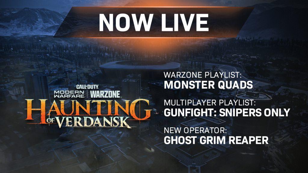 Actualización de CoD MW Warzone JAK12