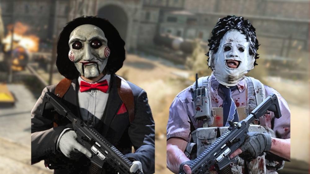 Máscaras de Halloween de CoD