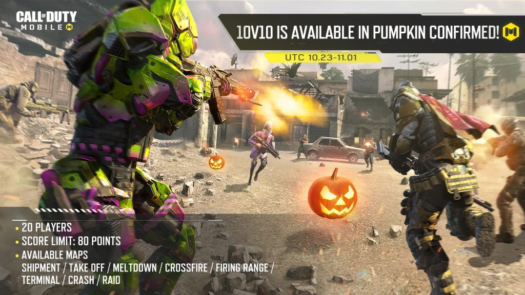 CoD Mobile Pumpkin confirmado