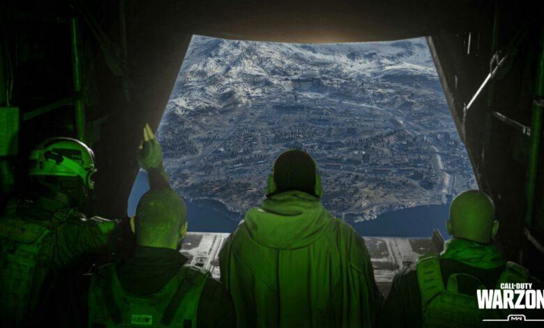 CoD Warzone: ¿Es así como se ve el nuevo mapa? Los datos nuevos dan esperanza a los jugadores