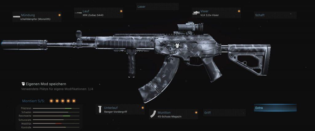 Cod warzone armas configuración amax nickmercs secretos