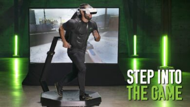 Como Ready Player One: llega la nueva cinta de correr VR, los juegos podrían cambiar radicalmente