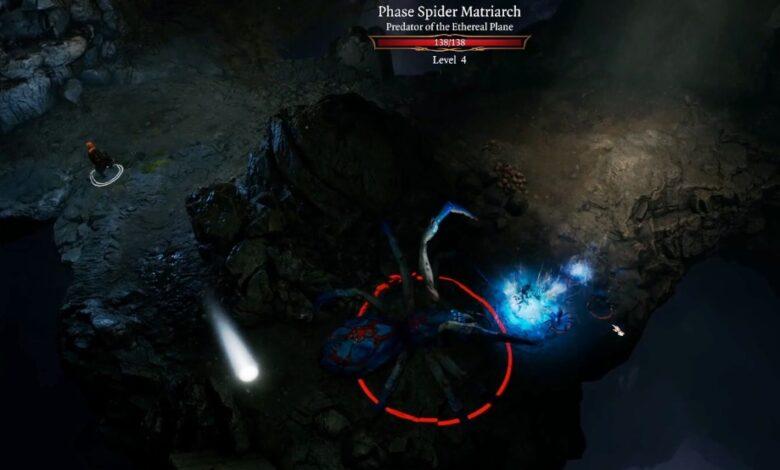 phase spider matriarch