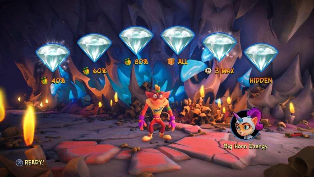 crash 4 cómo conseguir todas las gemas
