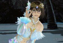 Photo of Dead or Alive Xtreme: Venus Vacation celebra el cumpleaños y Halloween de la nueva chica Tsukushi