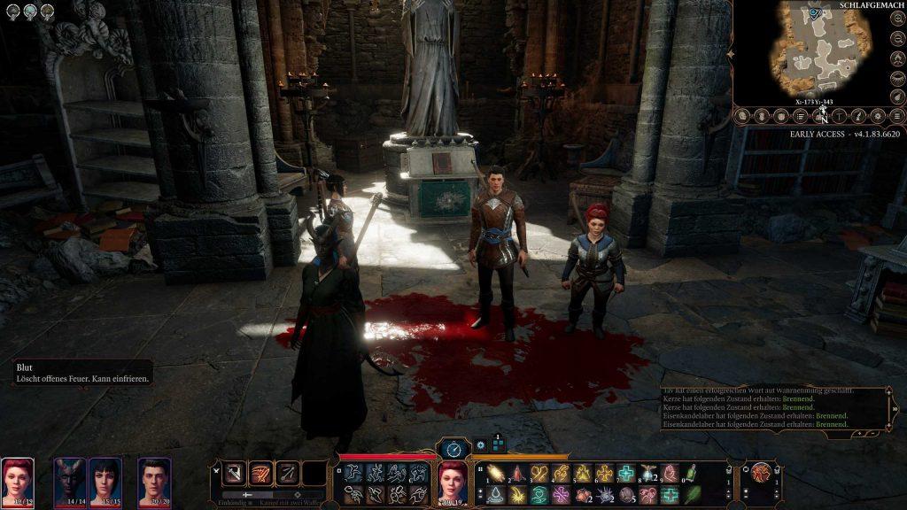 Foto de grupo multijugador de Baldur's Gate 3