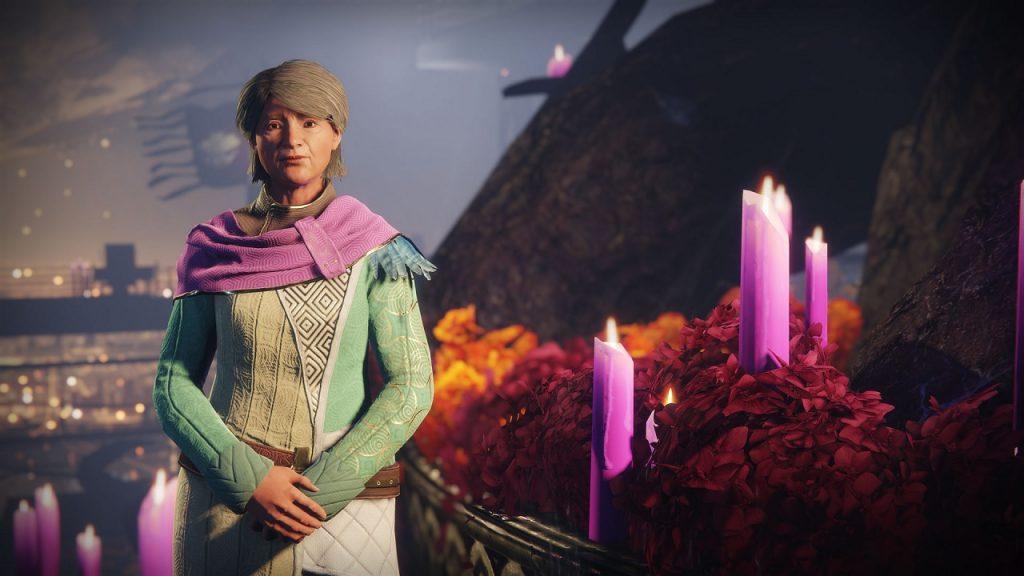 Eva Levante Space Grandma Destiny Event NPC