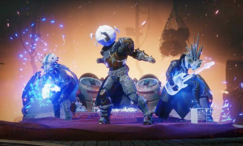 Destiny 2 está de moda para Halloween, con un tráiler genial y sonidos de hard rock