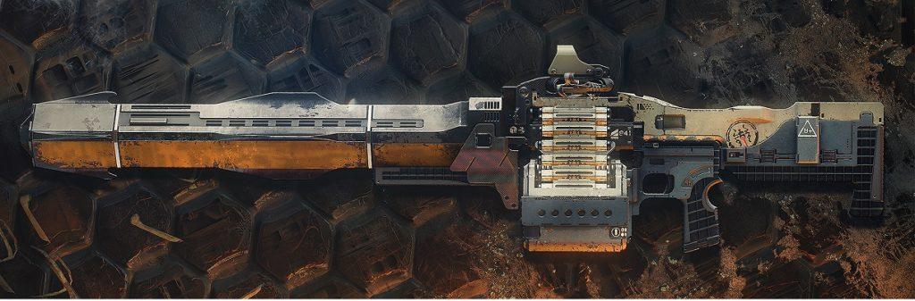 Exo pesado MG Xenophage Destiny 2