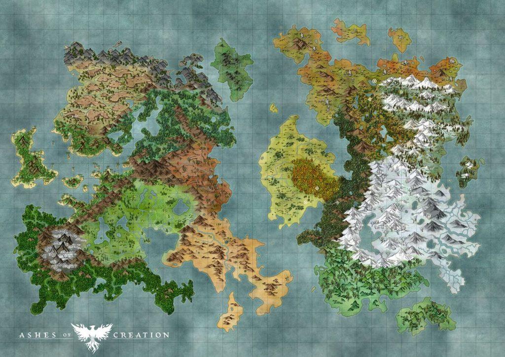 Mapa de las cenizas de la creación