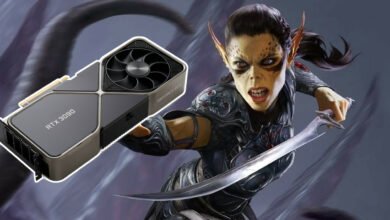 "El estudio detrás de Baldur's Gate pregunta a Nvidia por RTX 3080: ""¿Existe?"""