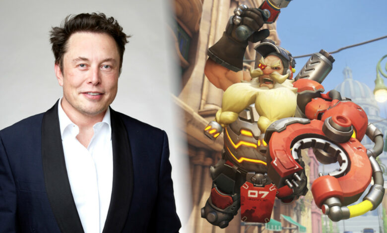 Elon Musk quiere un beneficio en Overwatch: Blizzard reacciona de inmediato