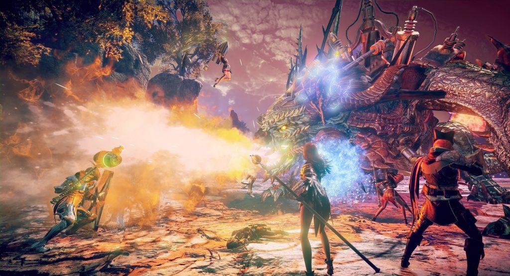 Elyon Screenshot Dragon Boss