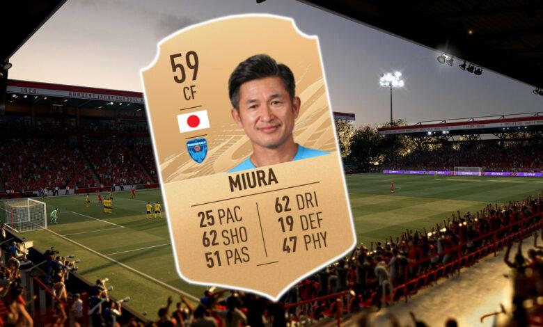 En FIFA 21 puedes interpretar a un jugador de fútbol de 53 años, pero ¿por qué?