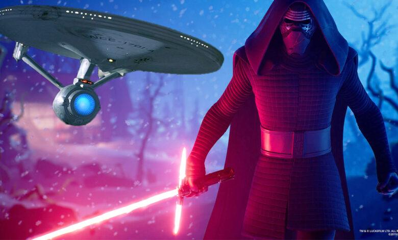 Epic teasers nuevo contenido para Fortnite: ¿habrá más ciencia ficción después de Star Wars?