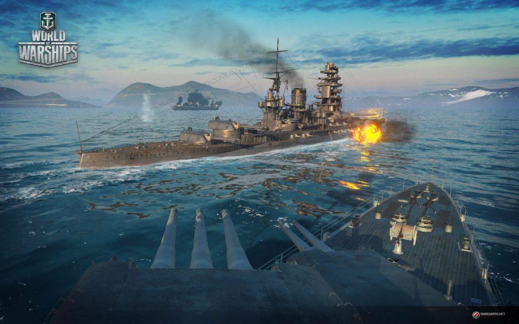 Jugabilidad de World of Warships